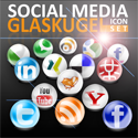 Freebie: Social Media Glaskugel Icon Set – by bohncore