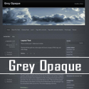 Neues WordPress Theme Grey Opaque von H.-Peter Pfeufer