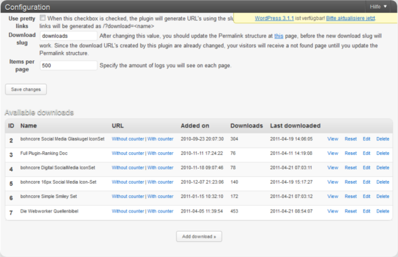 WordPress Download Plugin