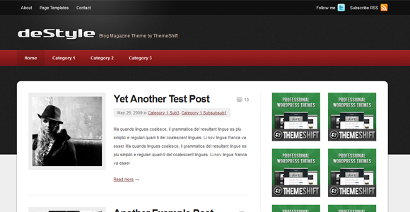 WordPress-Free-Theme-destyle