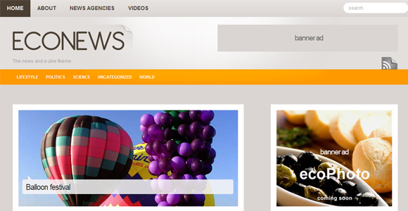 WordPress-Free-Theme-econews
