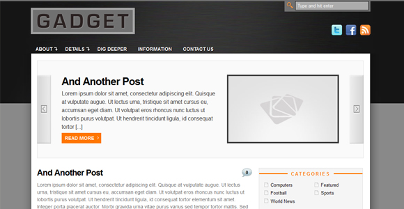 WordPress-Free-Theme-gadget