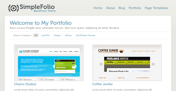 WordPress-Free-Theme-simplefolio