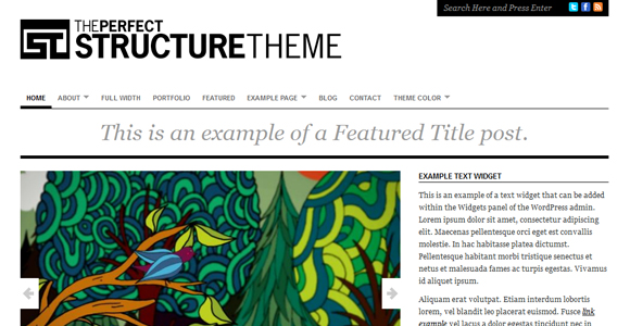 WordPress-Free-Theme-structure