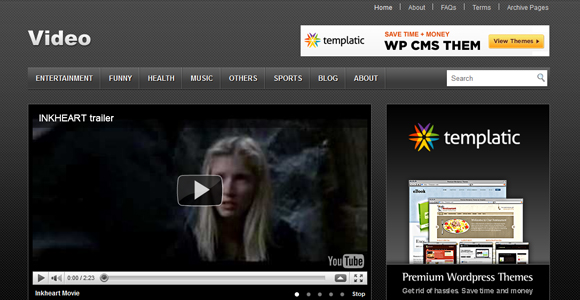 WordPress-Free-Theme-video