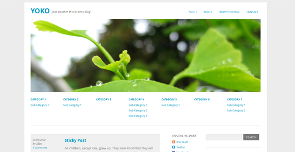 WordPress-Free-Theme-yoko