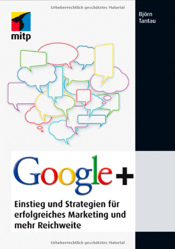 Google+ Buch Cover