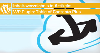 Table of Contents - Inhaltsverzeichnis in WordPress