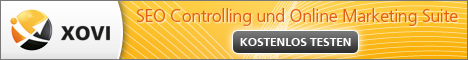 XOVI: SEO Controlling und Online Marketing Suite